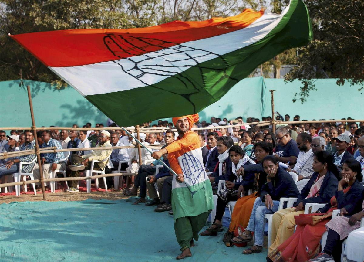 The Congress has already announced farm loan waiver of up to Rs two lakh and Rs 3,000 monthly dole to unemployed youth, among other assurances, if it comes to power. (PTI File Photo)