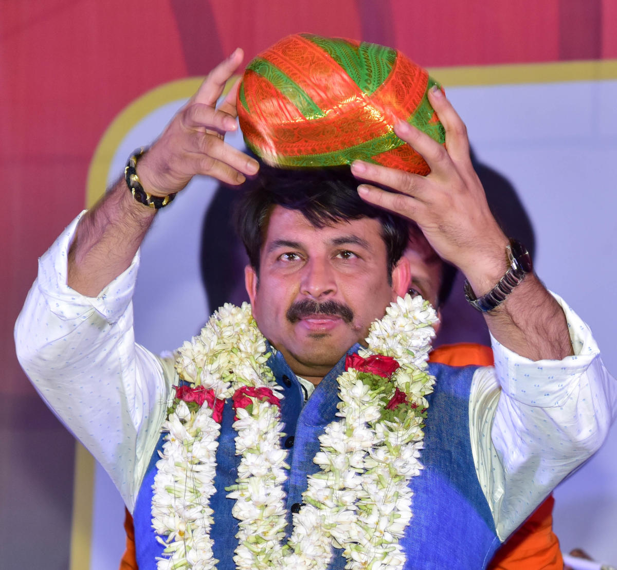 """BJP Delhi president Manoj Tiwari said, """"some people are deliberately trying to spread false news. 'Maryada Purushottam' Lord Ram is revered by all. There is no question of renaming Ramlila Maidan."""" (DH File Photo)"""