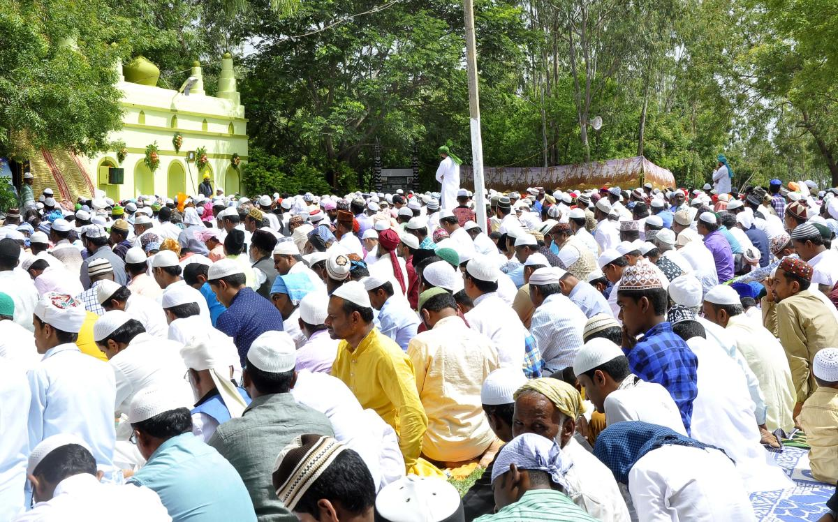 The appeal by the Imam of Nakhoda mosque Maulana Shafique Qasmi was made at the congregation after the Friday prayers. (DH File Photo)