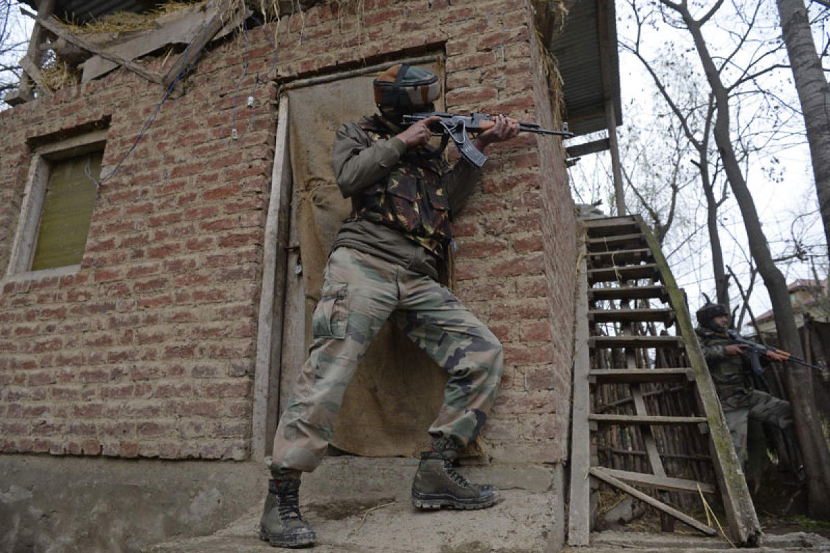 Sources said the militants managed to escape from the encounter site after the shootout. (File Photo. For representation purpose)