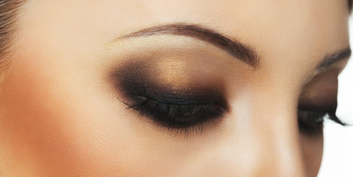 Rose gold is perhaps the most flattering eyeshadow in any palette.