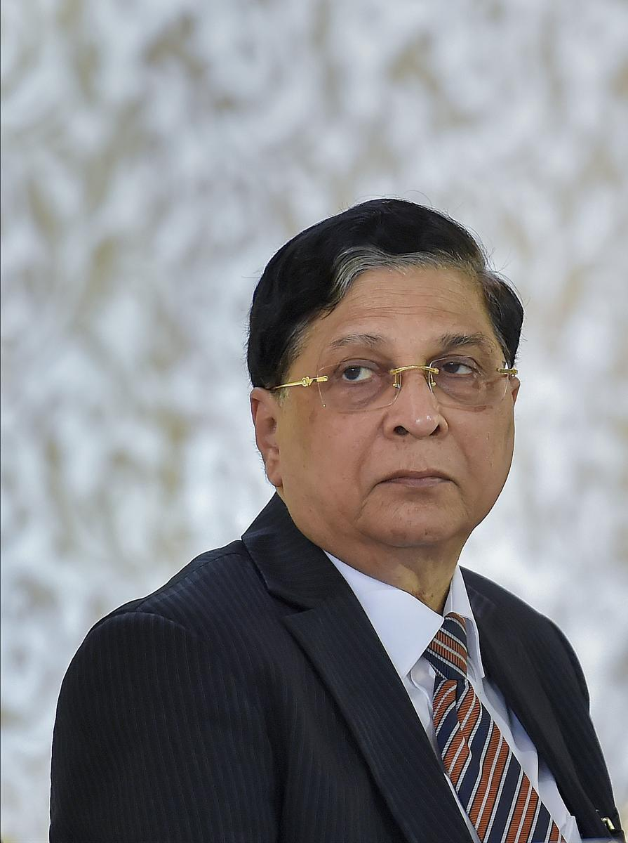Chief Justice of India Justice Dipak Misra. PTI