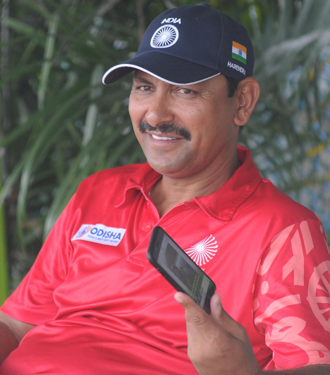 Harendra Singh. DH File Photo