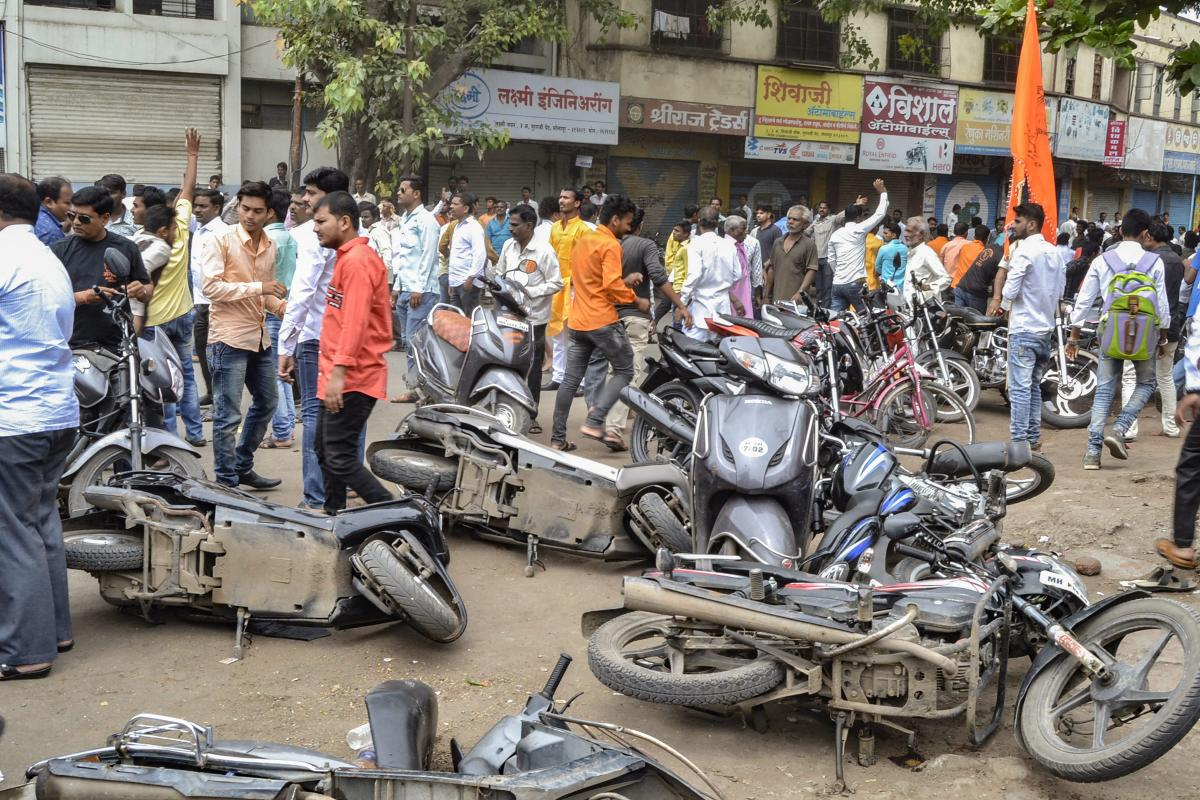 Protesters halted buses and other vehicles on roads in Latur, Jalna, Solapur and Buldhana districts, officials said. (PTI file photo)