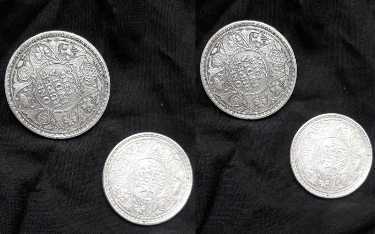 British India coins. (Courtesy: Twitter)