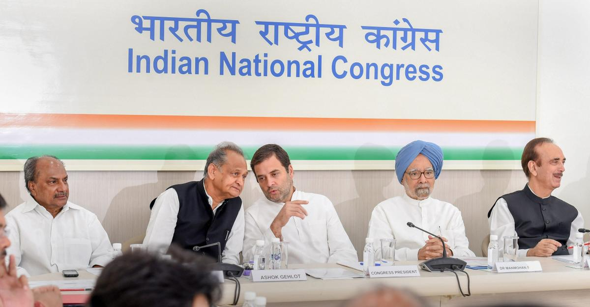 "The Congress on Saturday decided to take on the Narendra Modi Government on the issue of corruption by launching a public campaign that will highlight the bank scams, Rafale deal and the ""bad"" state of the economy. PTI photo"