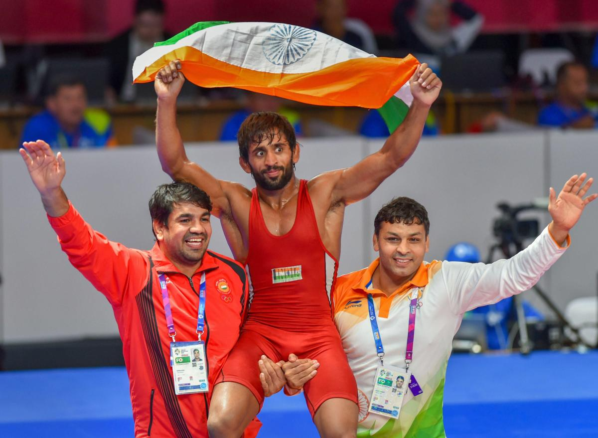 It has been learnt that Bajrang has already filed his nomination through the Wrestling Federation of India. PTI Photo