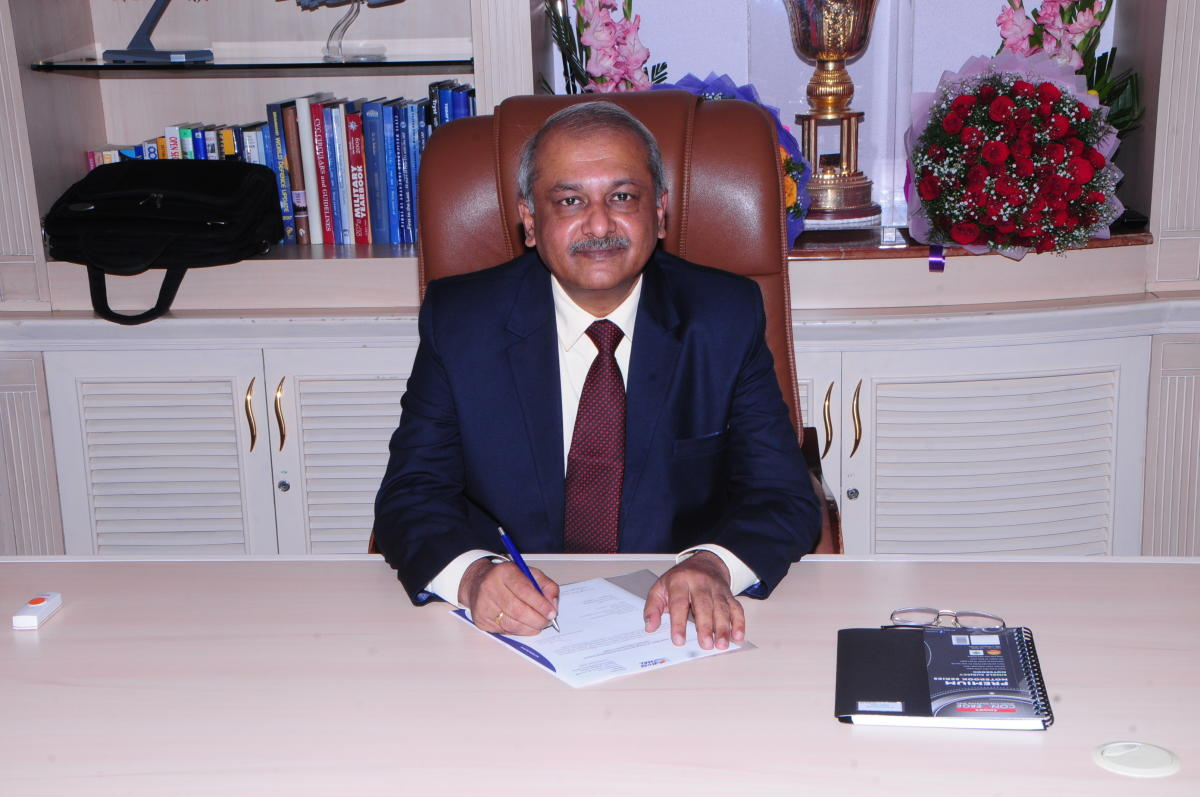 HAL's new Chairman and Managing Director R Madhavan