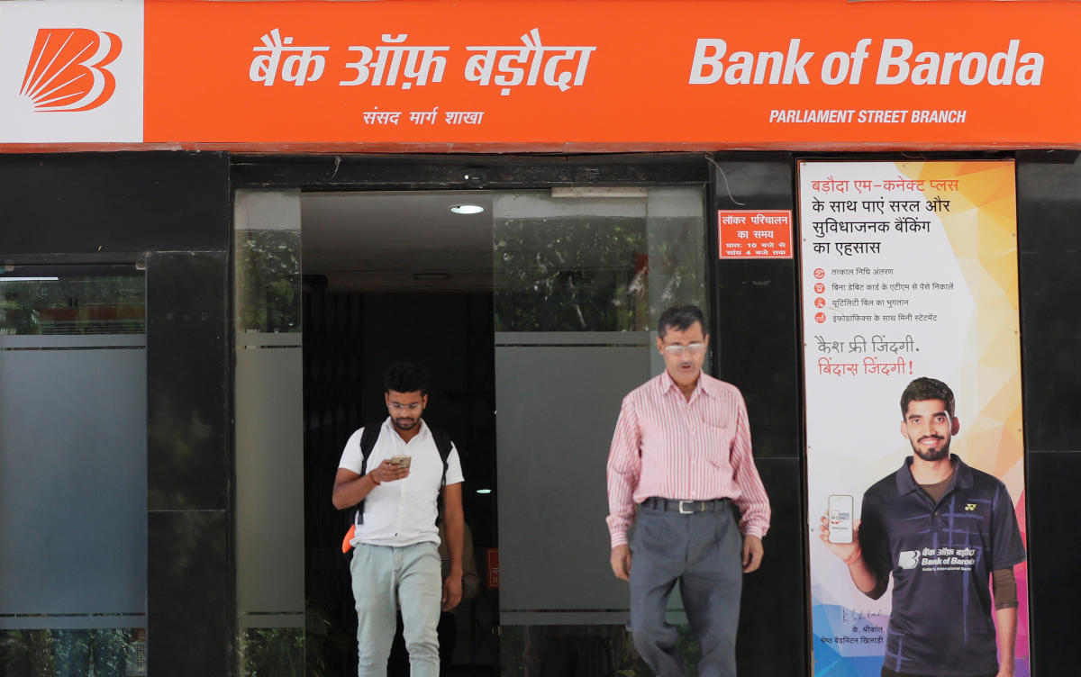 Moody's Investors Service Tuesday retained the rating of Bank of Baroda (BoB) following government's announcement of three-way merger with Vijaya Bank and Dena Bank. Reuters file photo