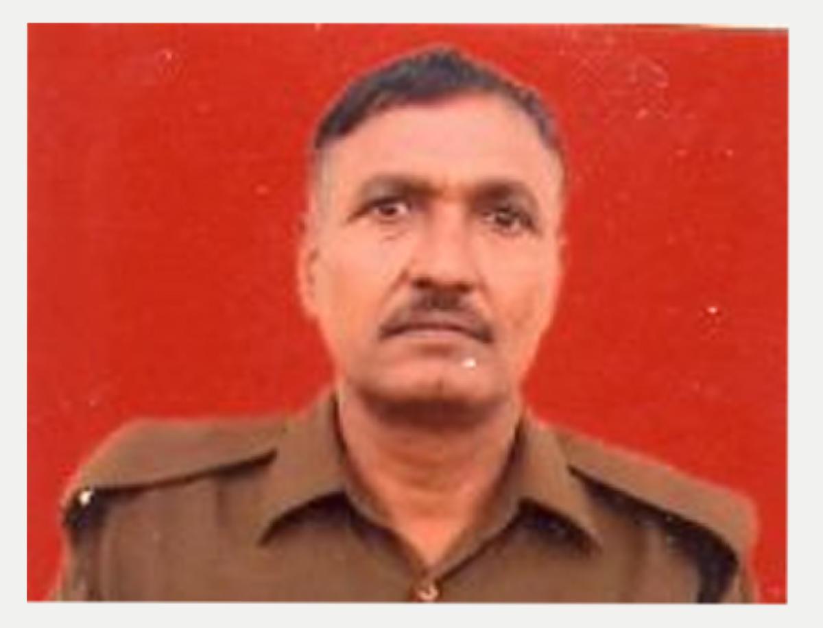 Head Constable Narender Kumar. (Image courtesy: Twitter/BSF)
