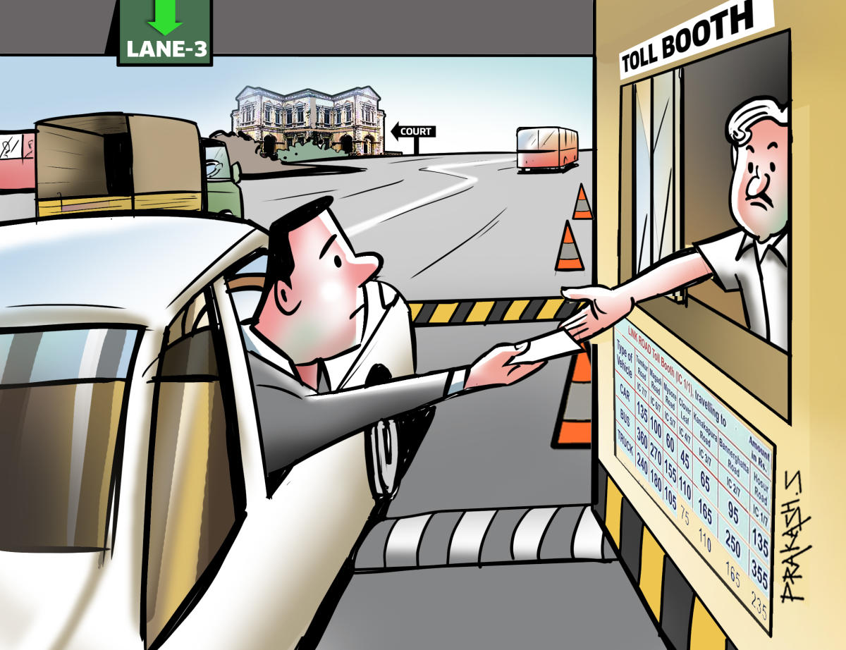 Advocates have sought exemption from toll, saying they have to frequently pass through toll gates to reach courts in Devanahalli and Nelamangala
