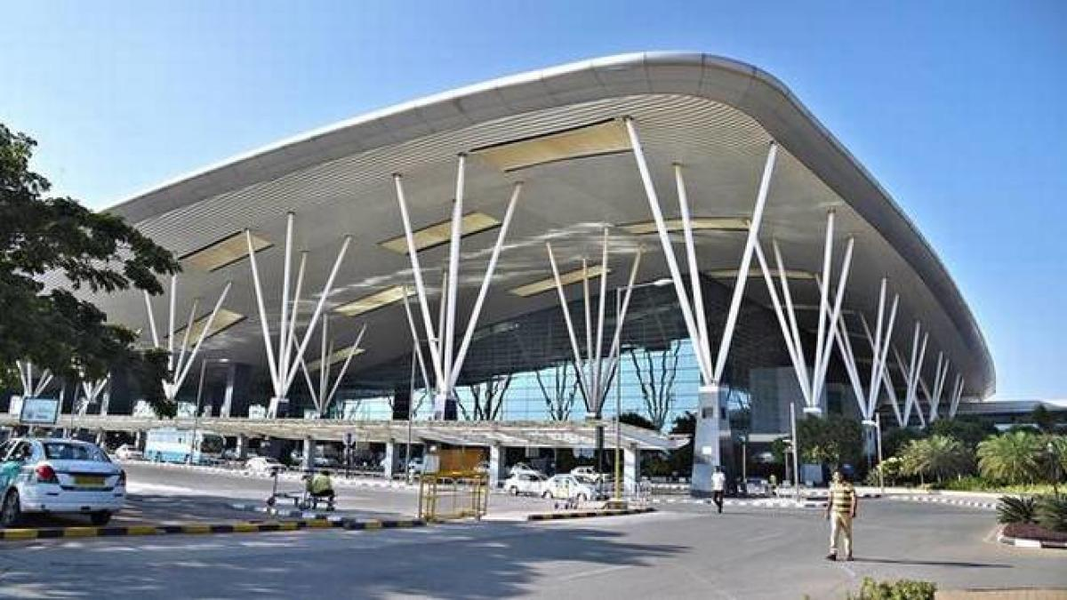 Bangalore International Airport (BIAL) Wednesday said it has mandated the factories and business arm of EPC major Larsen & Toubro (L&T) to construct the terminal 2 (T2) at a project cost of Rs 3,036 crore. (DH File Photo)