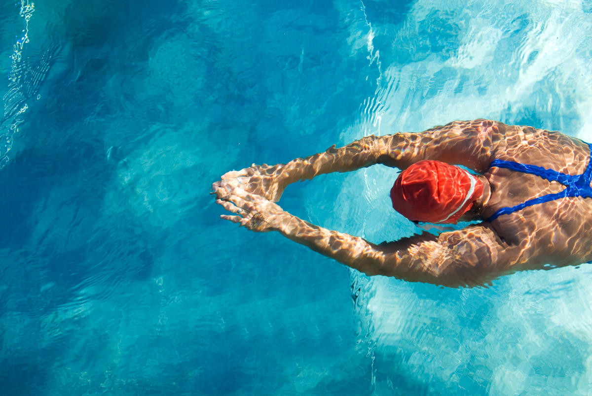 Include activities like swimming in your daughter's health regimen