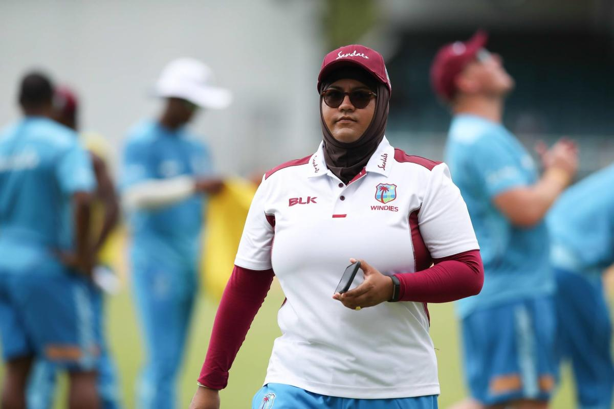 Naasira Mohammed is the media manager of West Indies' men's cricket team.