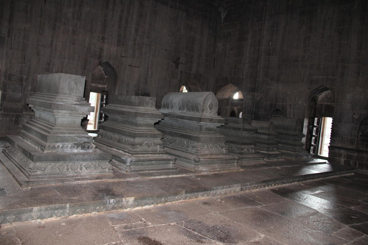 Graves of Adil Shah II and family