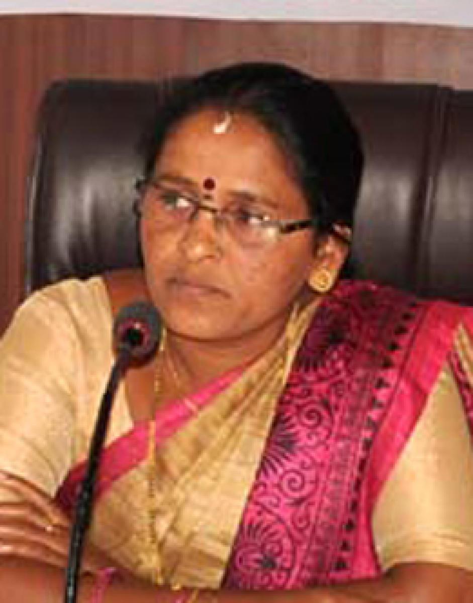 Chikkamagaluru Zilla Panchayat president Sujatha Krishnappa