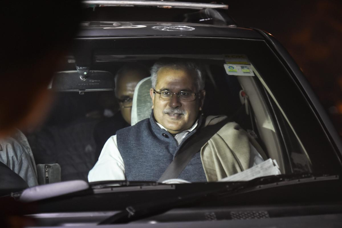 Baghel has kept most of the departments which were held by his predecessor Dr Raman Singh who led the BJP government for last 15 years in the state. (PTI File Photo)