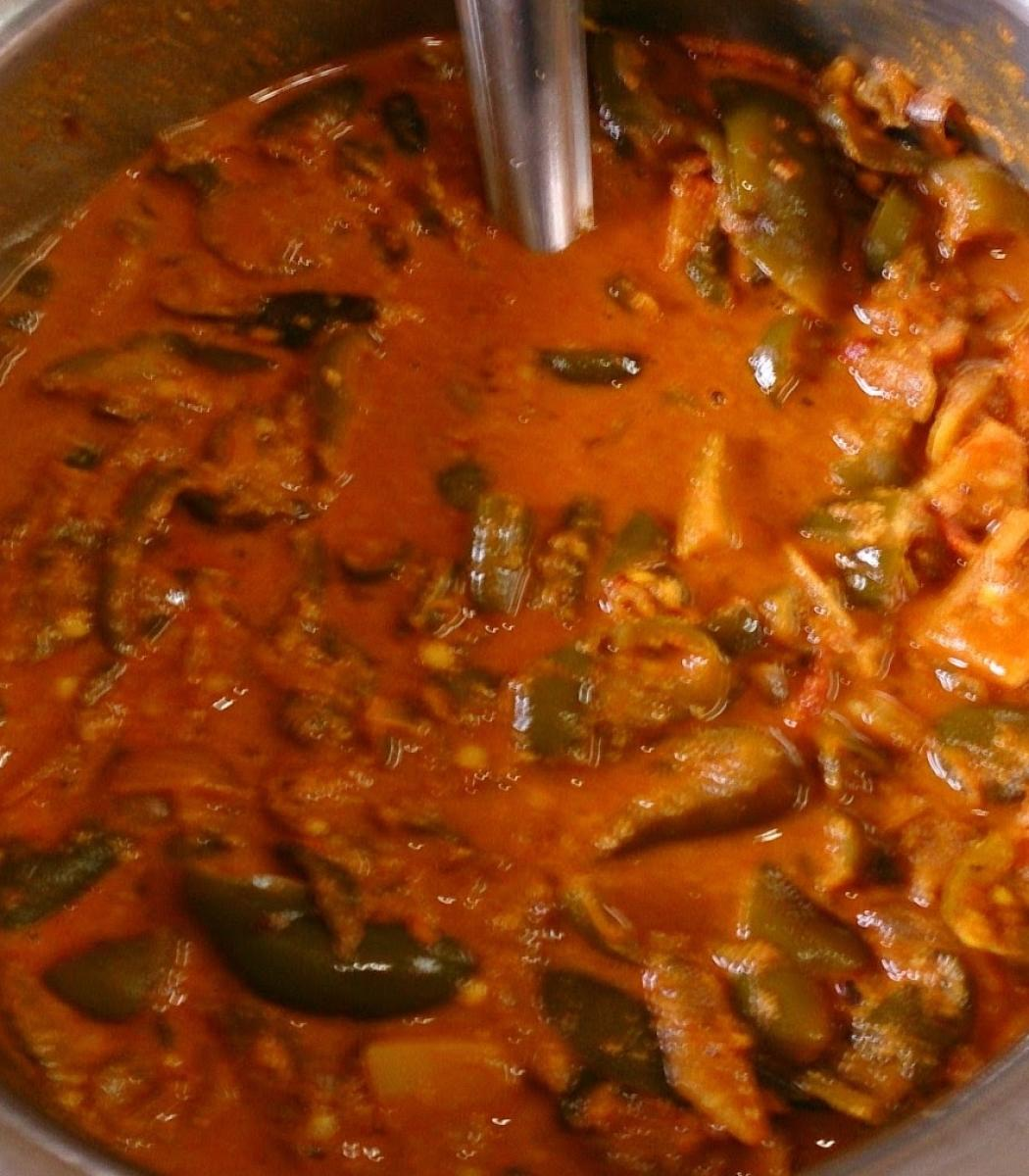 Ennegai is a gravy made of brinjal.