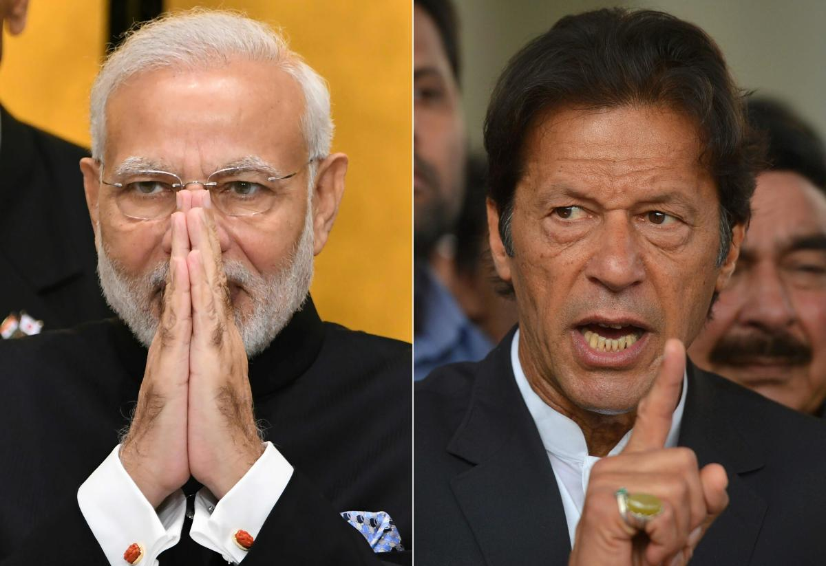 As tempers cool after an alarming confrontation between India and Pakistan in late February 2019, observers say their leaders have emerged stronger -- with Narendra Modi burnishing his nationalist credentials and Imran Khan cast as a peacemaker. (AFP Photos)