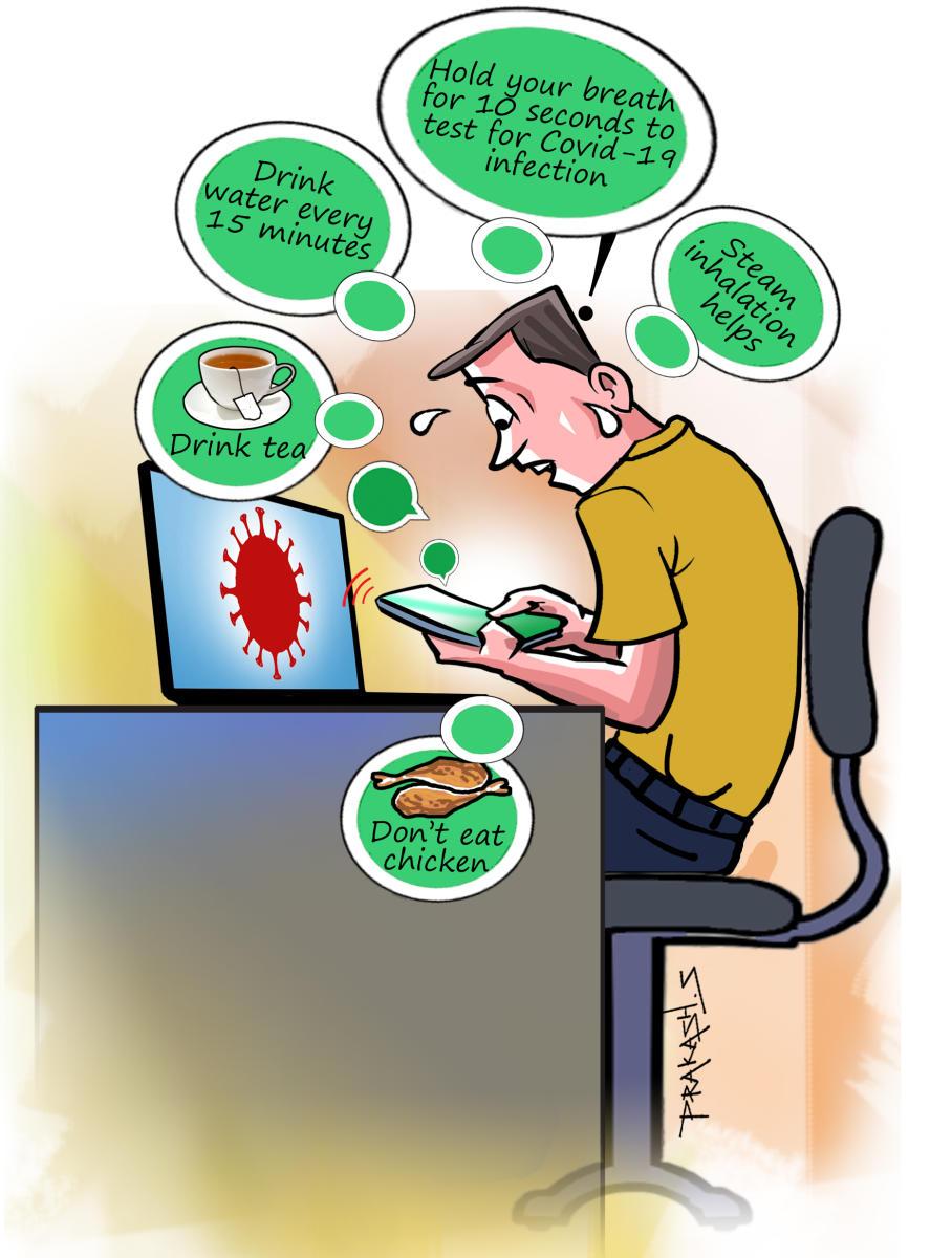 COVID-19 triggers fake news frenzy | Deccan Herald