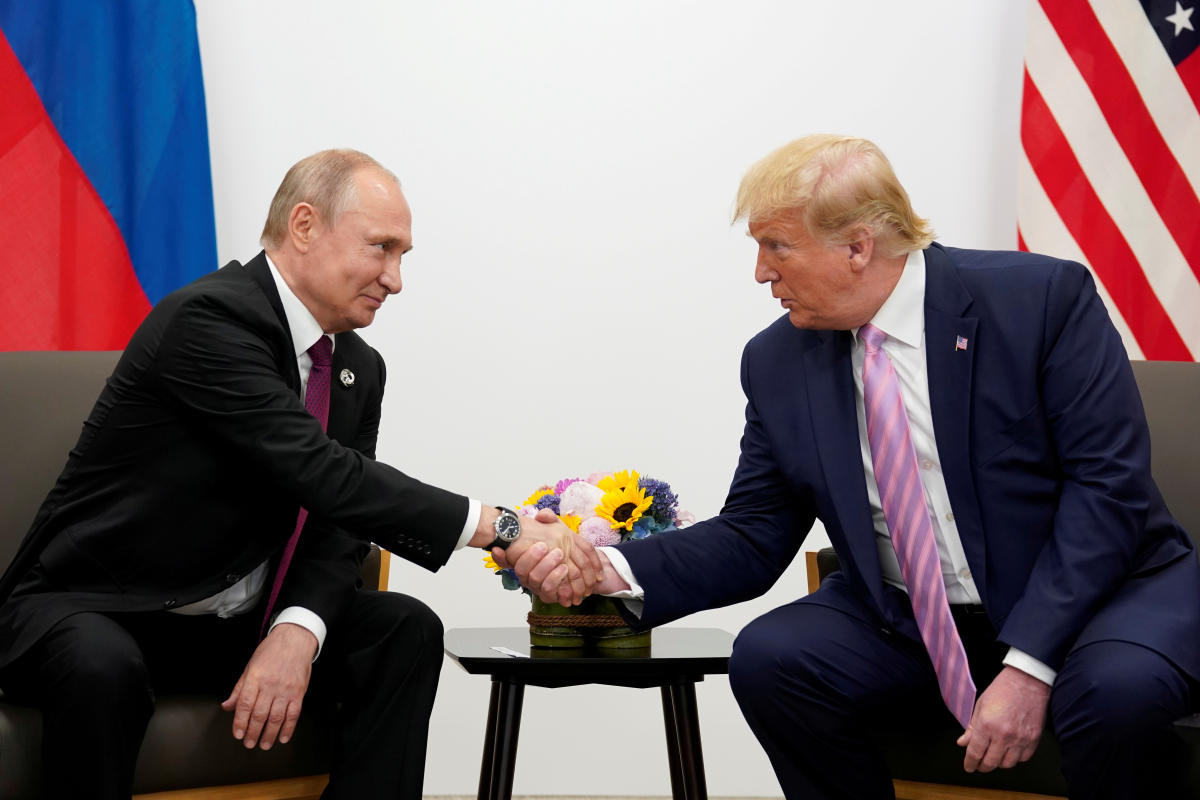 Us President Donald Trump And Russia S Vladimir Putin Issue Rare Joint Statement Promoting Cooperation Deccan Herald