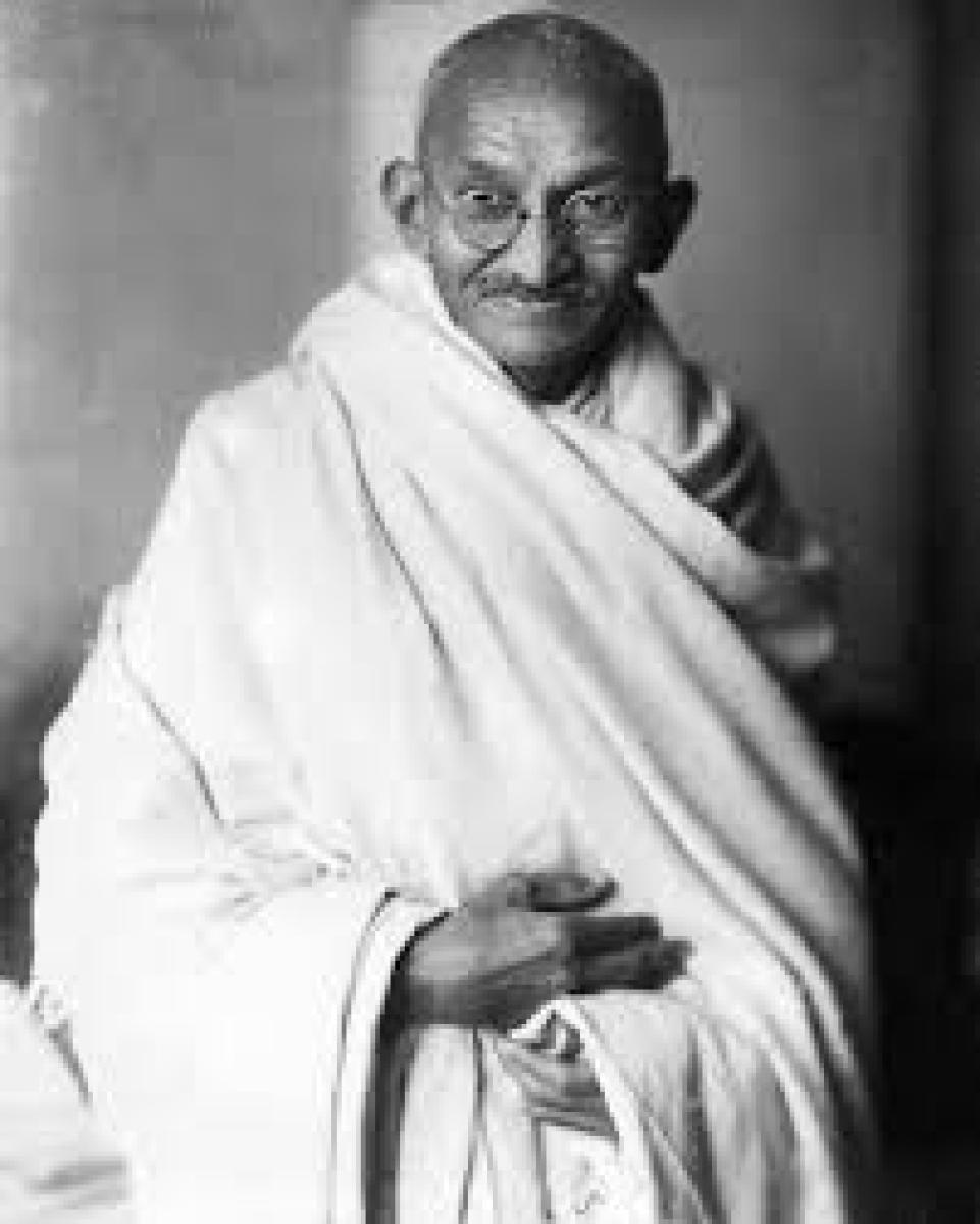 Mahatma Gandhi. File photo
