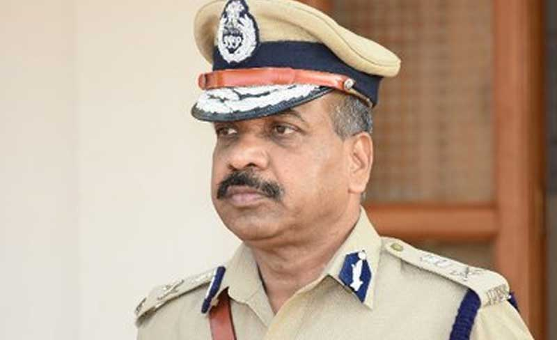 Bengaluru police commissioner T Suneel Kumar. Image courtesy Twitter