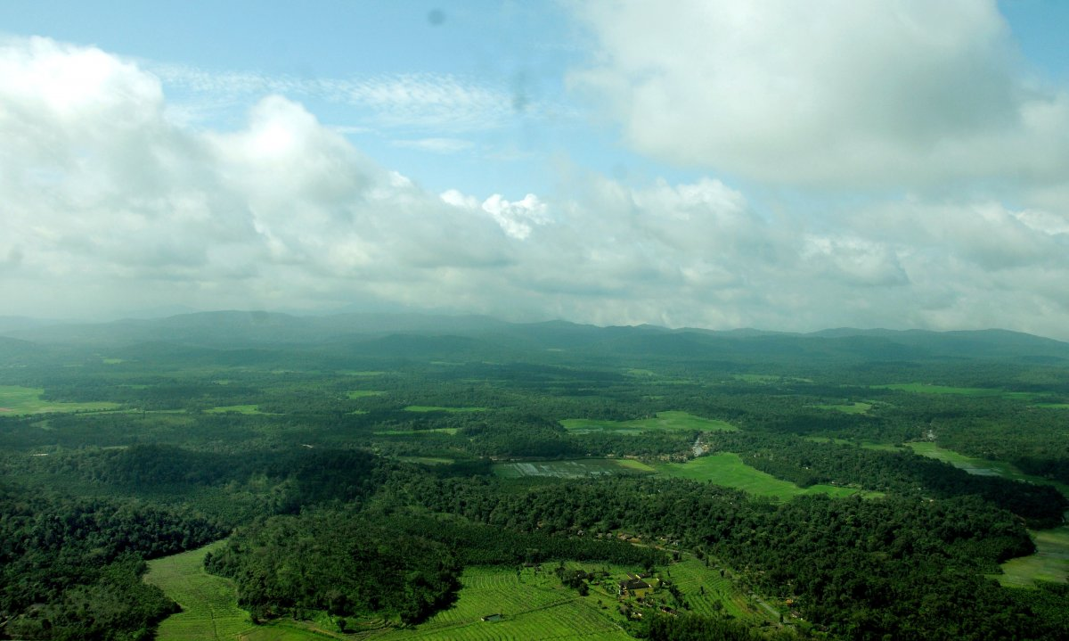 The view from Kundadri Hill near Agumbe