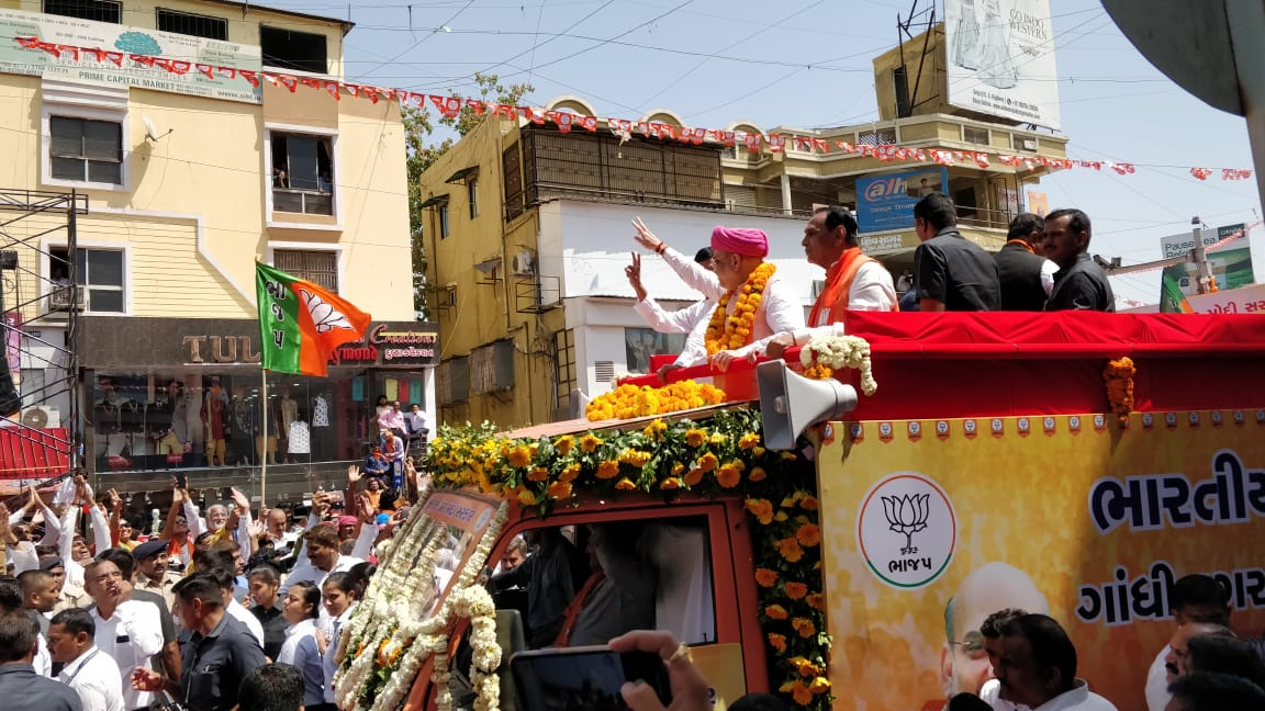 Shah makes a statement with launch of his LS campaign