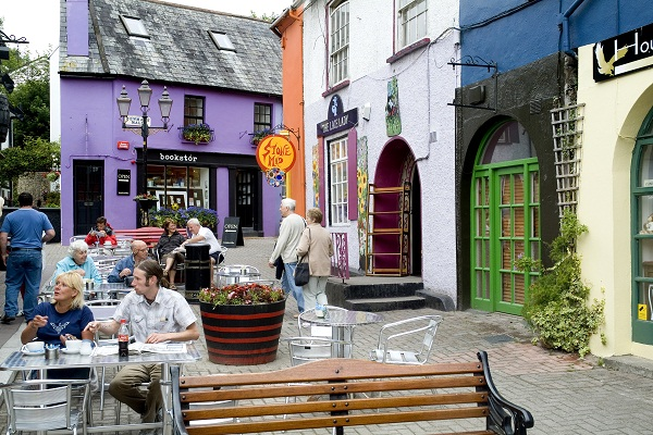 Colourful facades in Kinsale