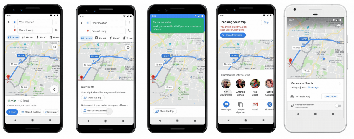Google Maps gets 'Stay Safer' feature in India