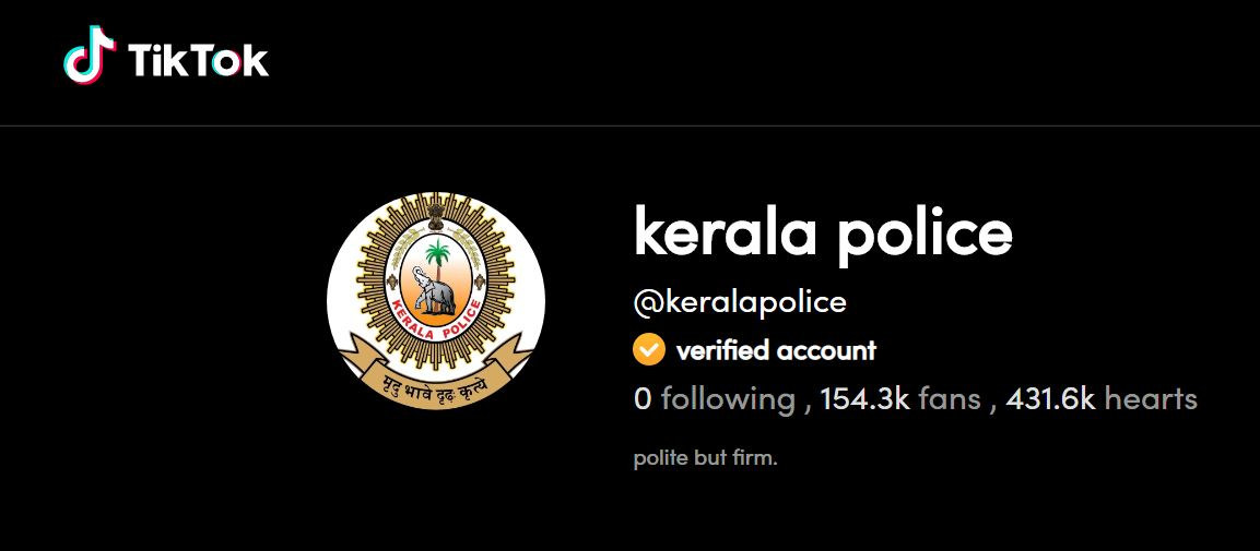Kerala Police expands its reach, now on TikTok | Deccan Herald
