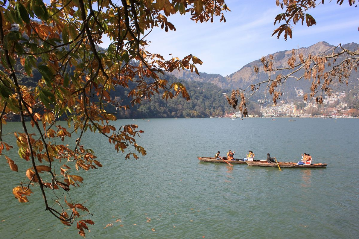 Boating at Nainital Lake