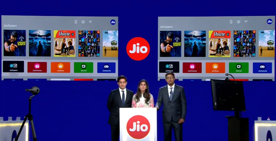 Reliance Jio Fiber Broadband, TV tariff plans 1