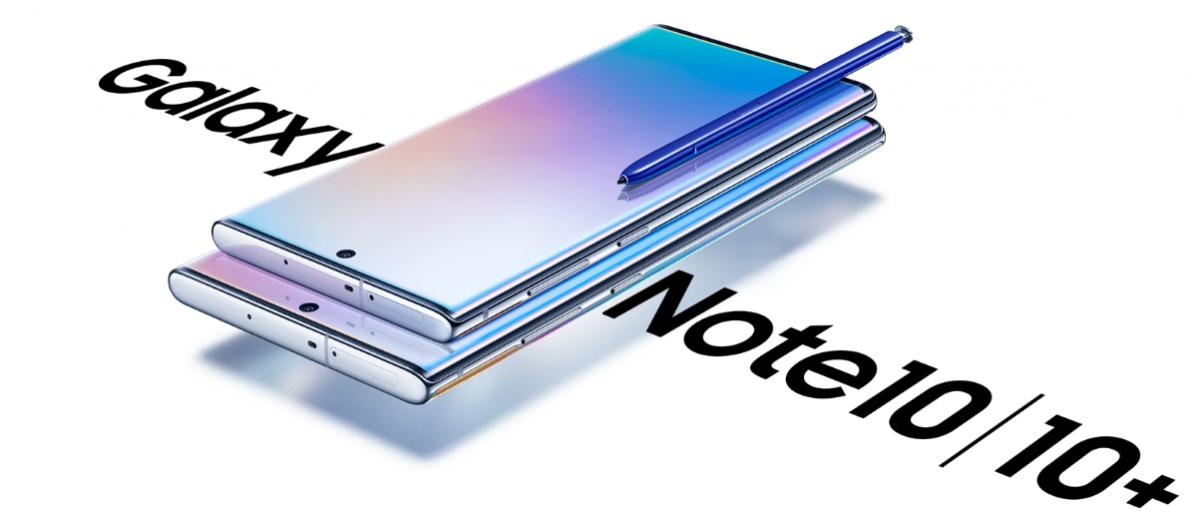 Samsung unveils Galaxy Note10 series