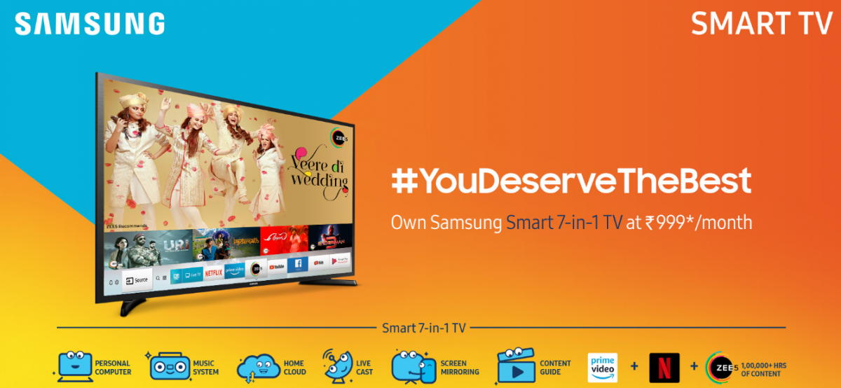 Samsung India unveils The Frame, Smart 7-in-1 TVs | Deccan