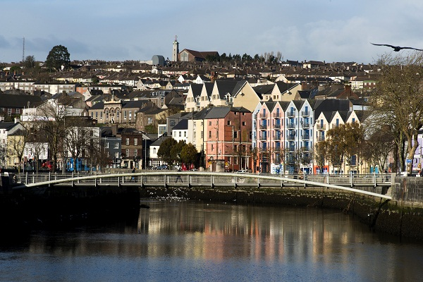 Shandon Bridge over the River Lee, Cork City