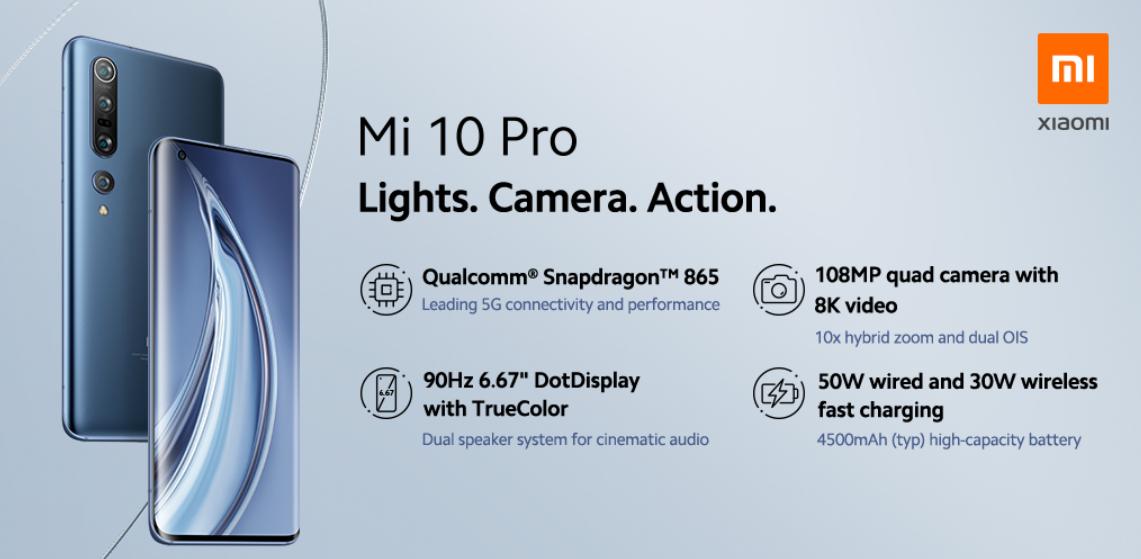 Xiaomi Mi10, M10 Pro with 108MP camera launched   Deccan Herald