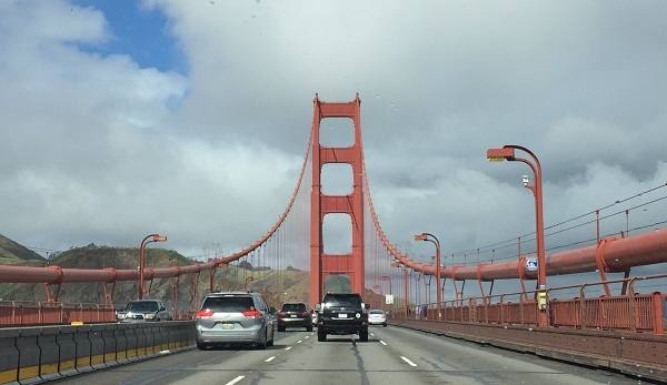 The Golden Gate bridge; the sister cities of San Francisco, includes Bangalore. PHOTOS BY AUTHOR