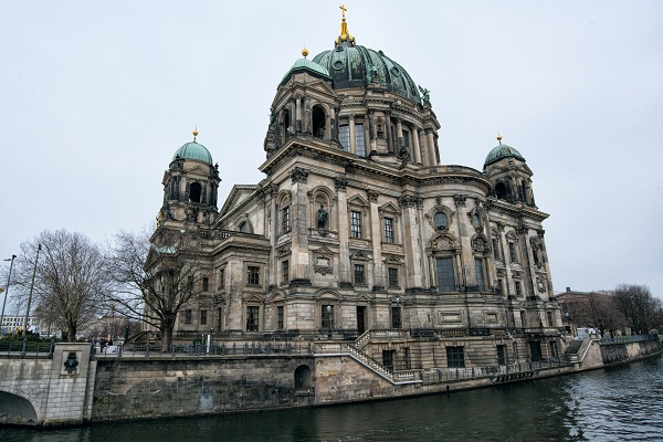 Berlin Cathedral on Museum Island.