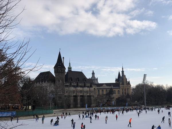 Largest open air ice skating rink