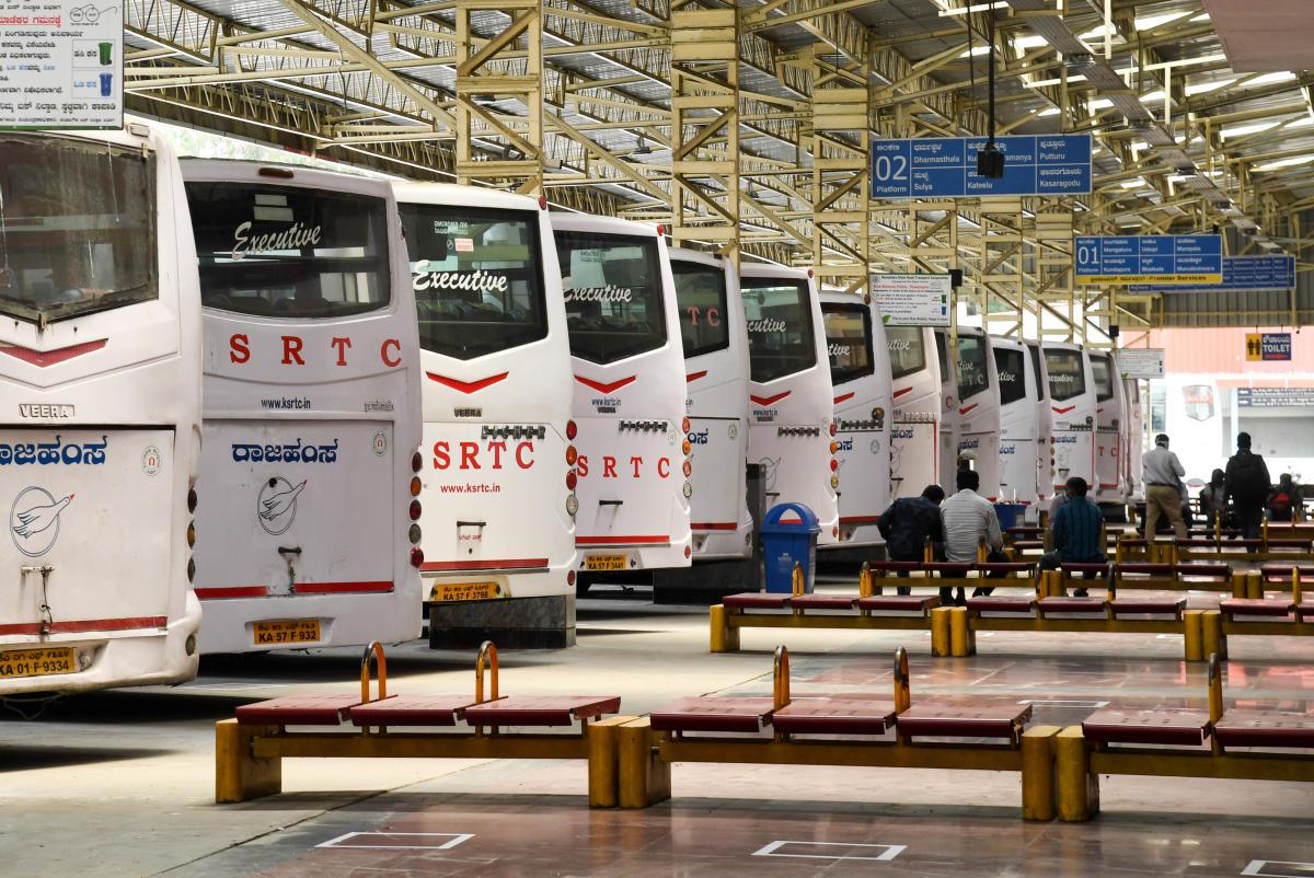 Bengaluru Buses To Run On Sunday Will Skip Containment Zones Deccan Herald