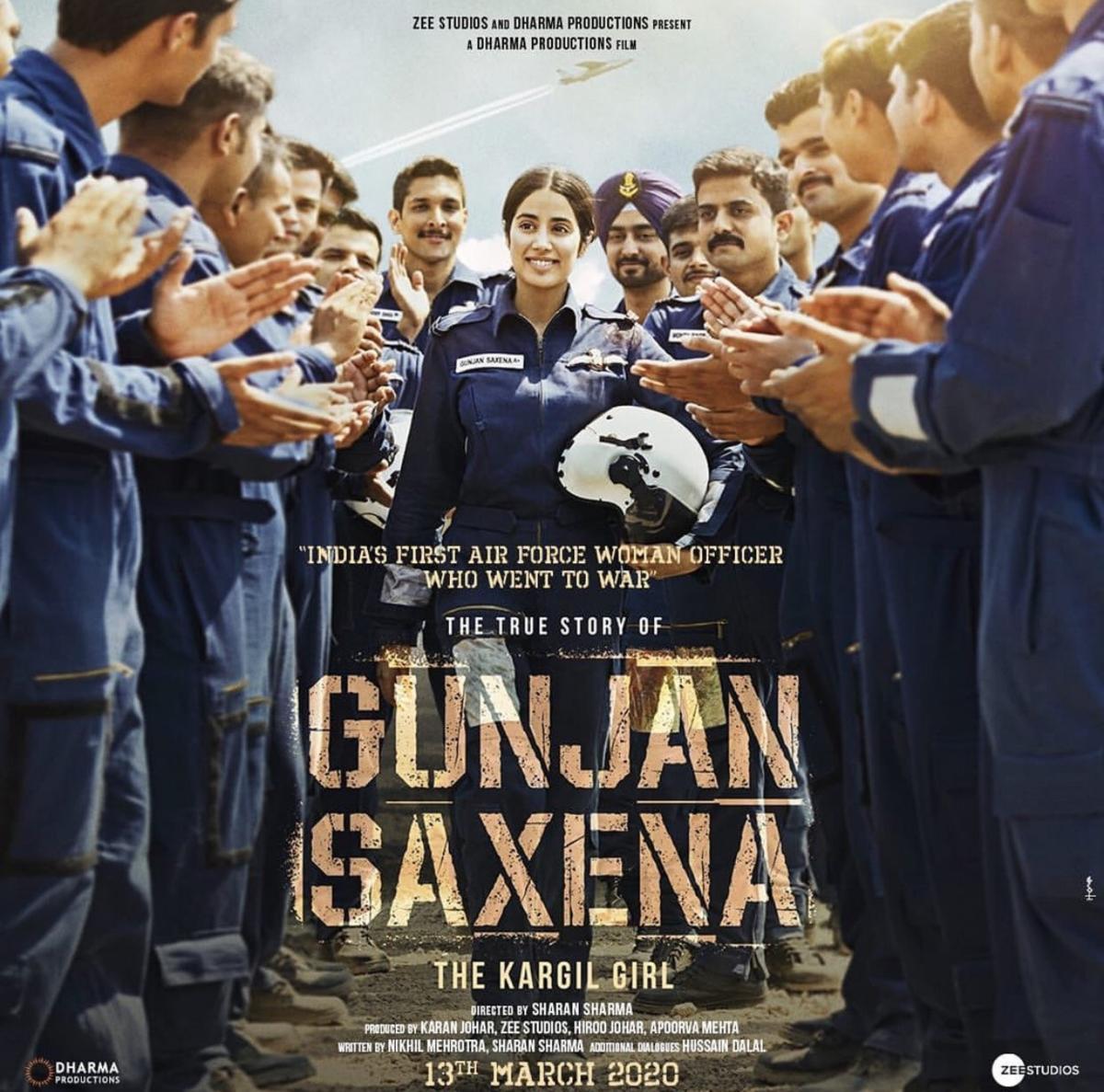 Gunjan Saxena The Kargil Girl To Stream On Netflix From August 12 Deccan Herald