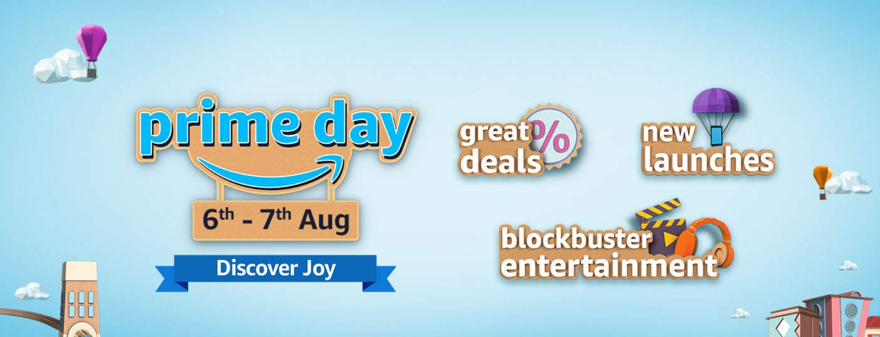 Amazon Prime Day 2020 to kick off in India next month