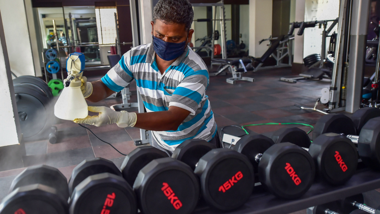 With Oximeters Temperature Guns And More Gyms Ready To Welcome Fitness In Corona Era Deccan Herald