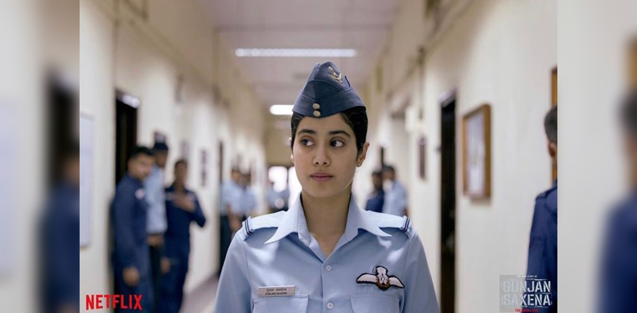 Gunjan Saxena Movie Review Janhvi Kapoor Starrer Hits The Right Notes Deccan Herald