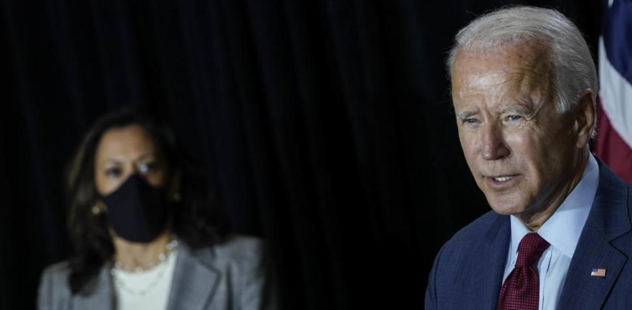 Joe Biden Blasts Donald Trump For Abhorrent Birther Rhetoric On Kamala Harris Deccan Herald