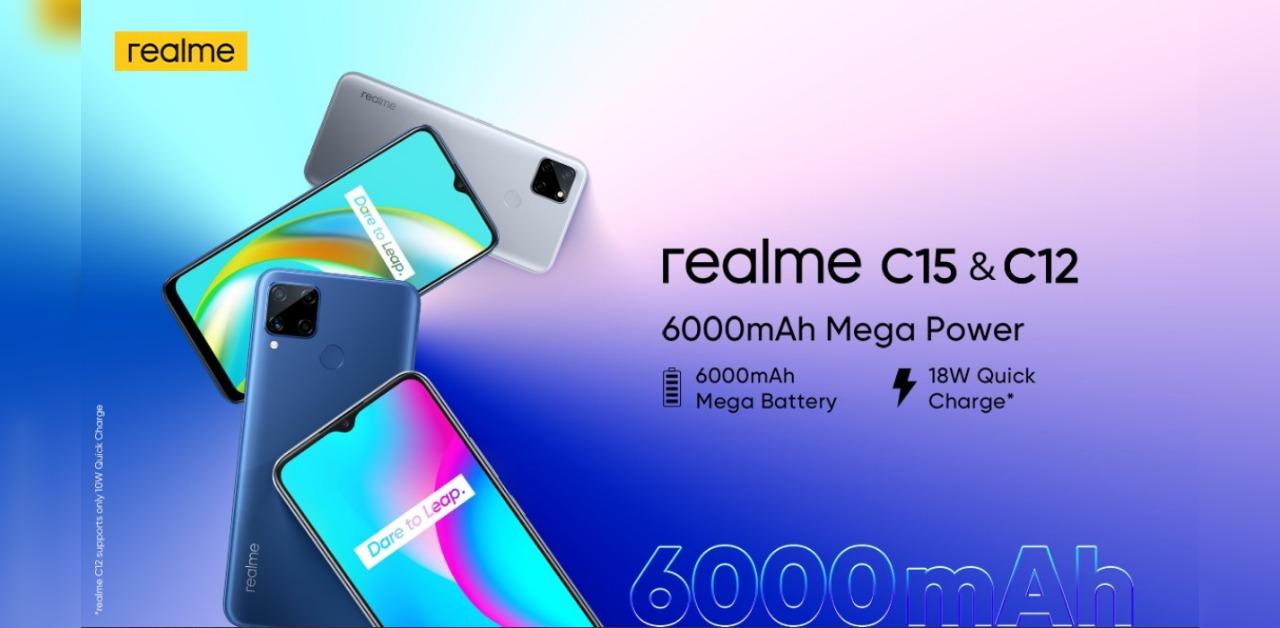 Realme C12 Realme C15