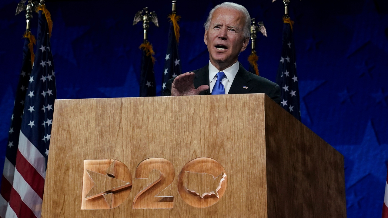 Joe Biden leaves convention with a clear mission: Stop Donald ...