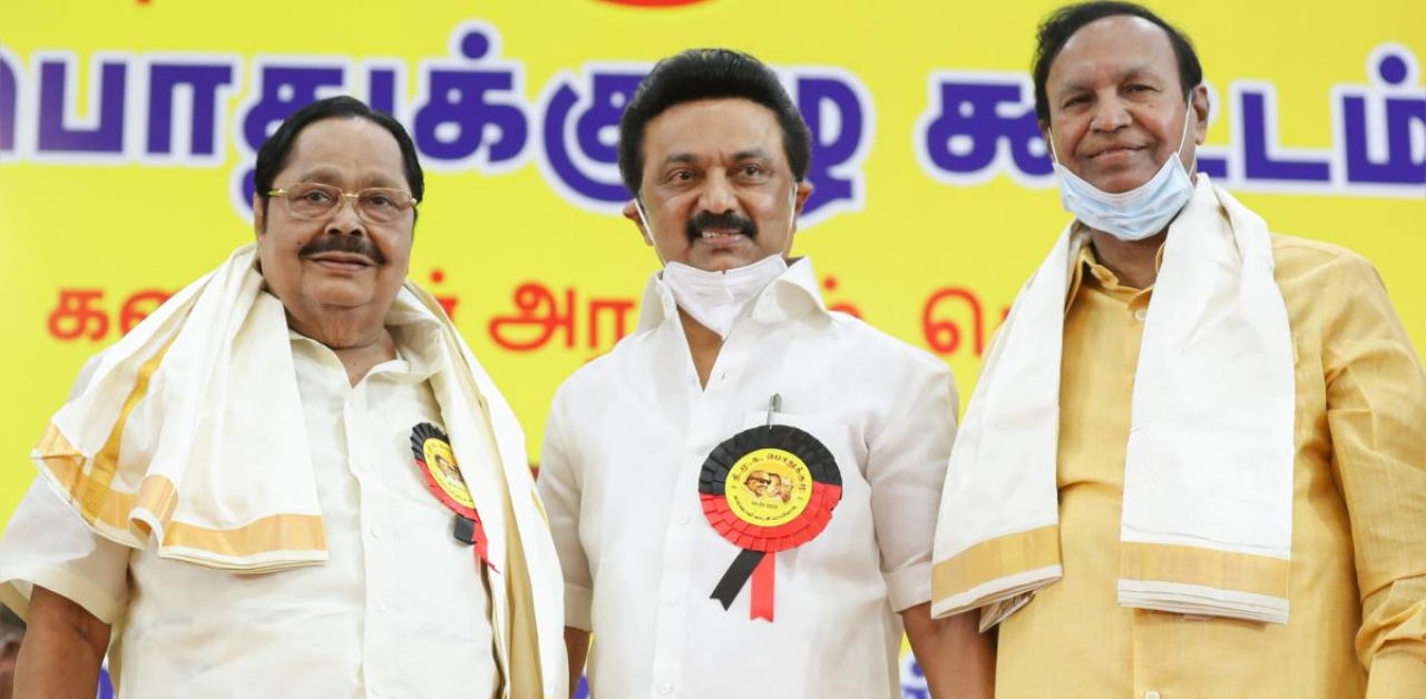 DMK elects senior party leaders to key positions | Deccan Herald